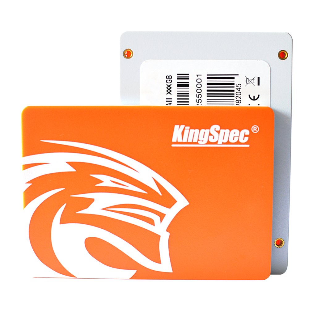 KingSpec 256GB SSD 2.5 Inch Hard Drive SATA3 Internal Solid State Drive P3-256 by KingSpec (Image #1)