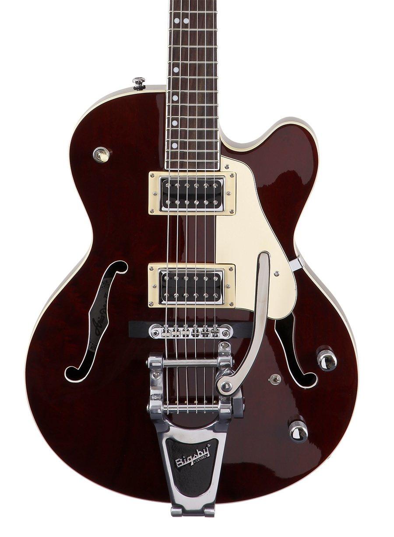 Aria FA-75 - Guitarra eléctrica, color nogal: Amazon.es ...
