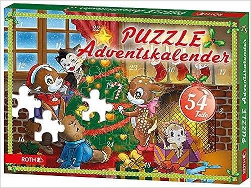 Puzzle-Adventskalender für Minis   B00VEBNVTG