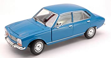 1:18 Welly Peugeot 504 Saloon 1975 red