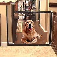 Portão Tela Porta Retrátil Proteção P/Cães Cachorros Bebe