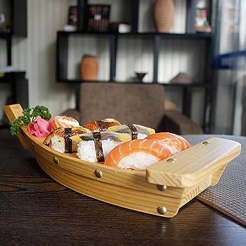 Augproveshak creative Barchetta in legno utensili cucina ...