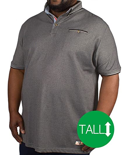Duke London - Polo - para Hombre Gris Gris L/Alto: Amazon.es: Ropa ...