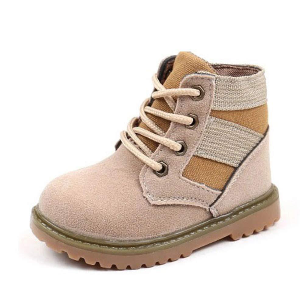 Kinder Martin Stiefel britischen Stil Jungen Schuhe Schn/ürstiefel f/ür M/ädchen Kinder Casual Turnschuhe