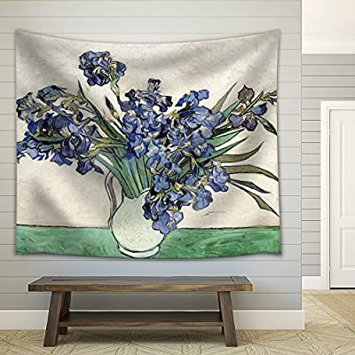 That You Will Love, Dazzling Craft, Vase of Irises by Vincent Van Gogh