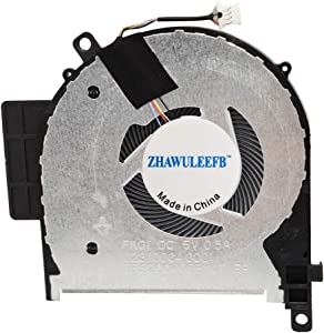 ZHAWULEEFB Replacement CPU Cooling Fan for HP Envy X360 15-CN 15-CP TPN-W134 TPN-W135 Fan FKG1 023.100C4.0001 DFS200405BY0T