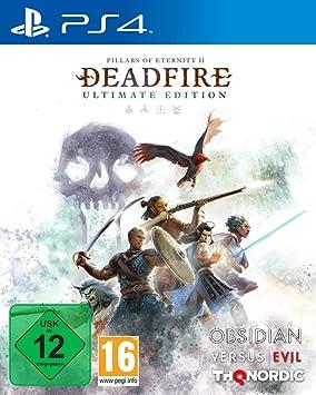 THQ Pillars of Eternity II: Deadfire, PS4 vídeo Juego Playstation ...