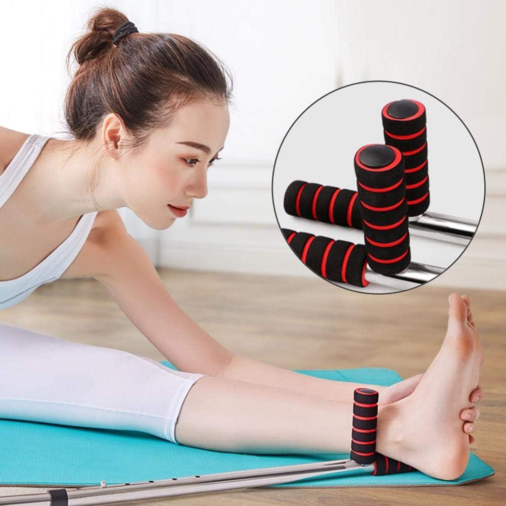 Easy-topbuy Split Legs Ligament Stretcher,Civi/ère De Ligament Dentra/înement Divis/ée,Machine Dextension De Jambe De Ballet Acier Inoxydable+poign/ée en Mousse comme Indiqu/é pour La Formation Physical