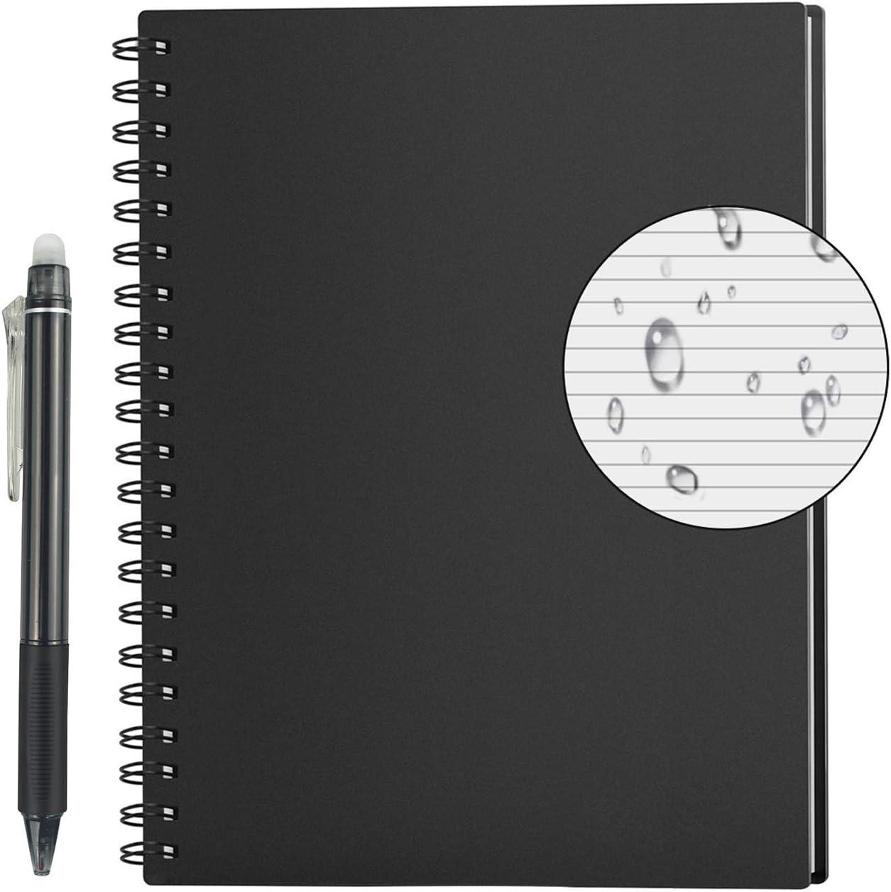 Libreta y bolígrafo inteligentes
