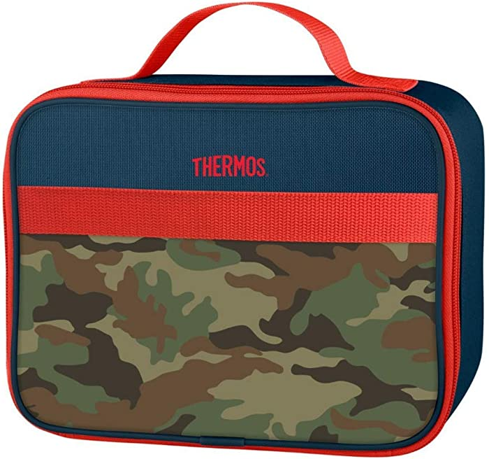 Thermos Novelty Soft Lunch Kits, Camo Colorblock