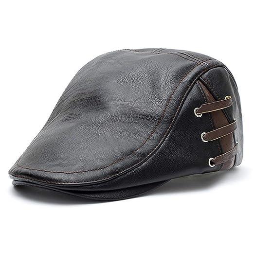 Gorras de plato Hombre Cap adelante for hombre de Golf Militar de ...