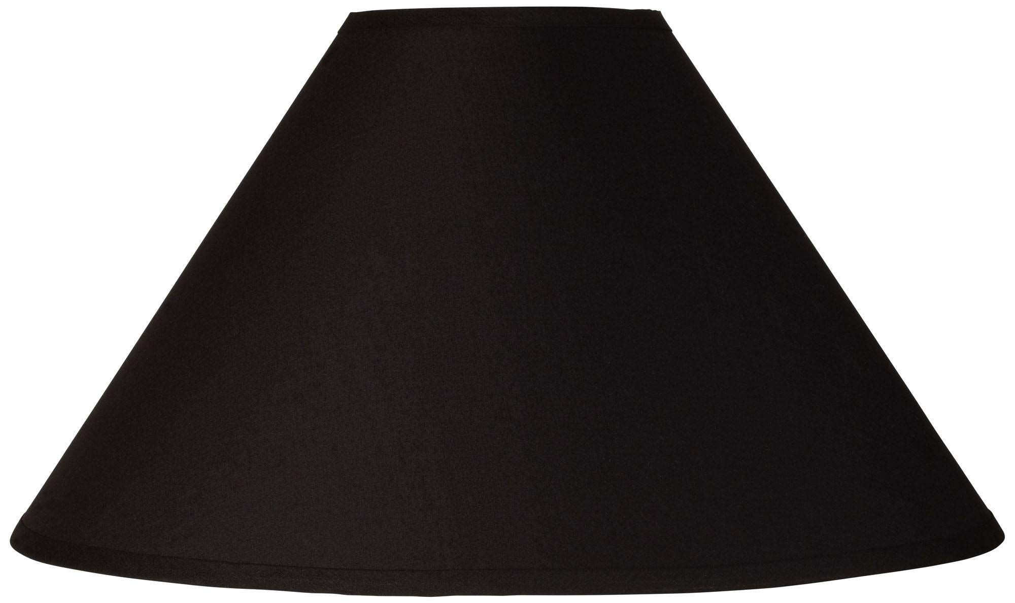 Black Chimney Empire Lamp Shade 6x19x12 (Spider) - Brentwood