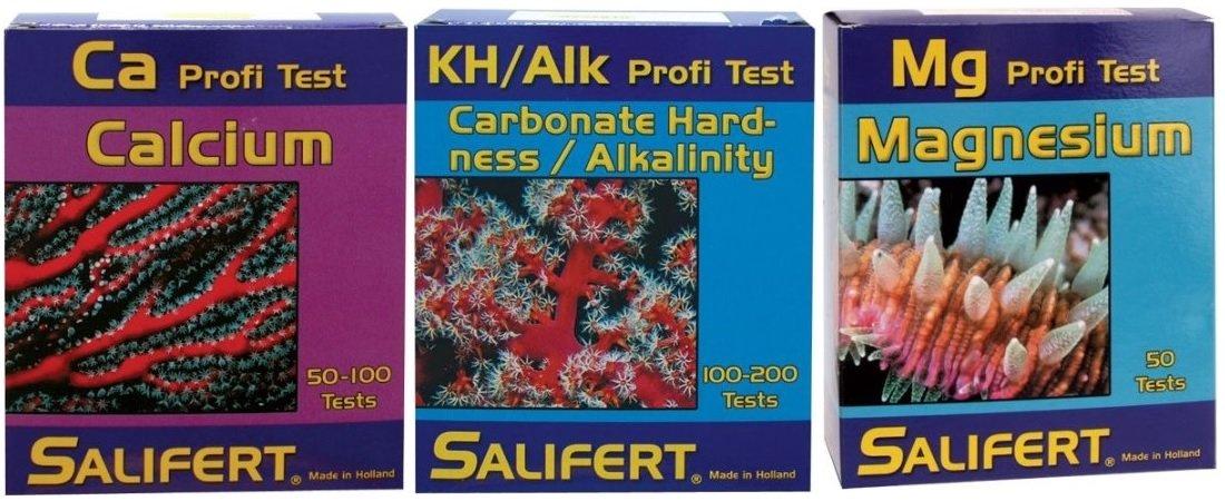salifert alcalinidad de calcio magnesio Combo Kit de prueba: Amazon.es: Productos para mascotas