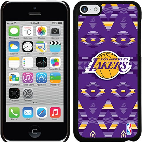 Coveroo Thinshield Snap-On Case for iPhone 5c - Retail Packaging - Los Angeles Lakers - Tribal Print Design