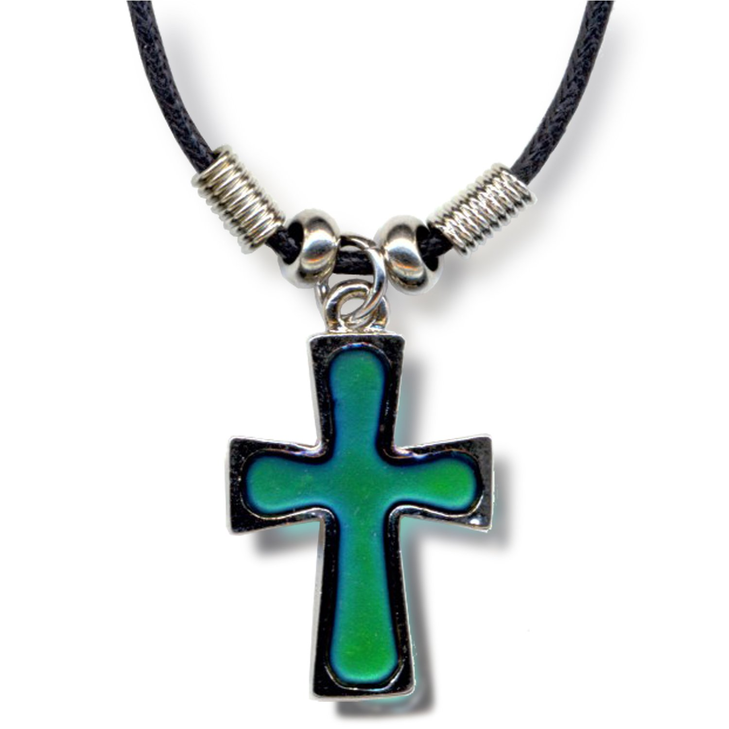 Amazon mood cross necklace crazy color change fun pendant amazon mood cross necklace crazy color change fun pendant necklaces jewelry aloadofball Gallery
