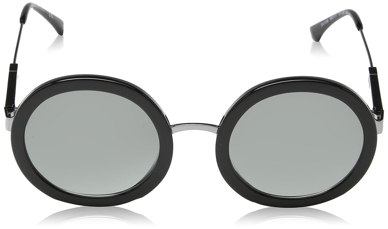 72bf6ca5ea74 Amazon.com  Emporio Armani EA4106 500111 Black EA4106 Round Sunglasses Lens  Category 2 Size  Emporio Armani  Clothing