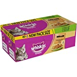 Whiskas Pouch Simply Grilled Mixed, 40 x 85g