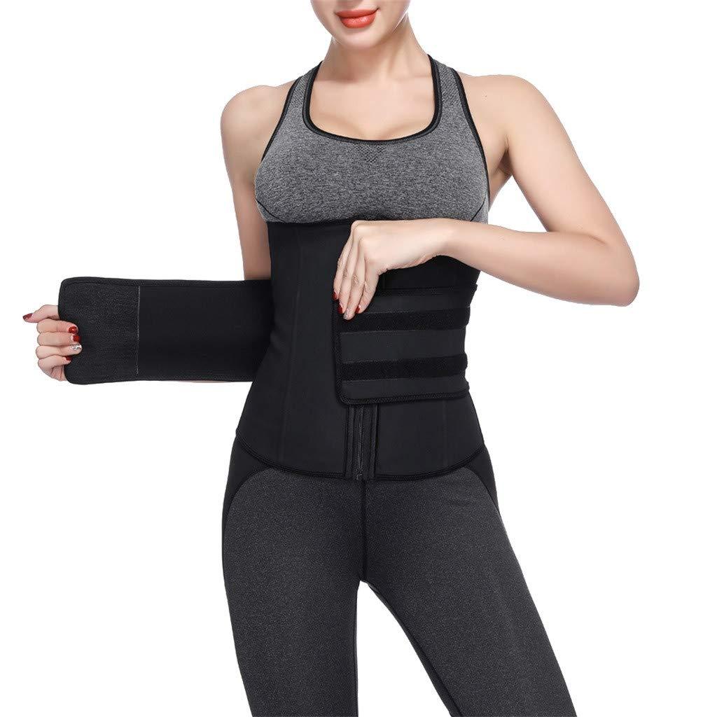e0b7cbf22 Allywit Men Sauna Sweat Vest Weight Loss Waist Trainer Vest Neoprene Tank  Top Shapewear Slimming Shirt ...