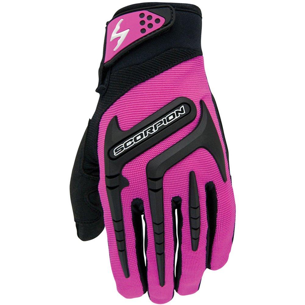 Scorpion Skrub Women's Textile Sports Bike Racing Motorcycle Gloves - Pink/Large
