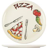 H&H H & H 14045Plato Pizza 34cm, cerámica