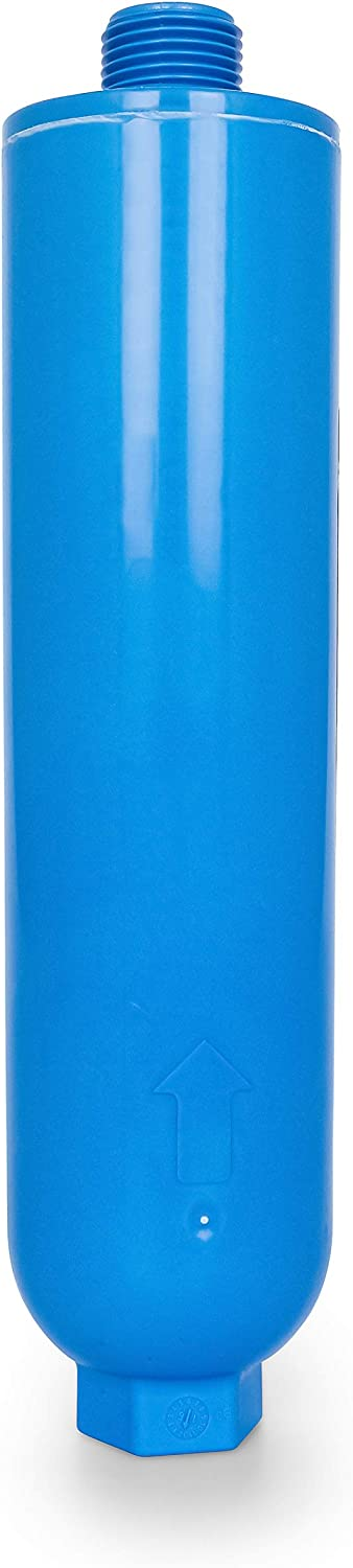 Camco TastePURE RV Water Filter with Flexible Hose Protector - Greatly Reduces Bad Taste, Odors, Chlorine and Sediment in Drinking Water (40041)
