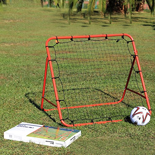 HITSAN Soccer Baseball Training Exercise Stander Rebound Target Mesh Net Outdoor Sports Entertainm One Piece by HITSAN
