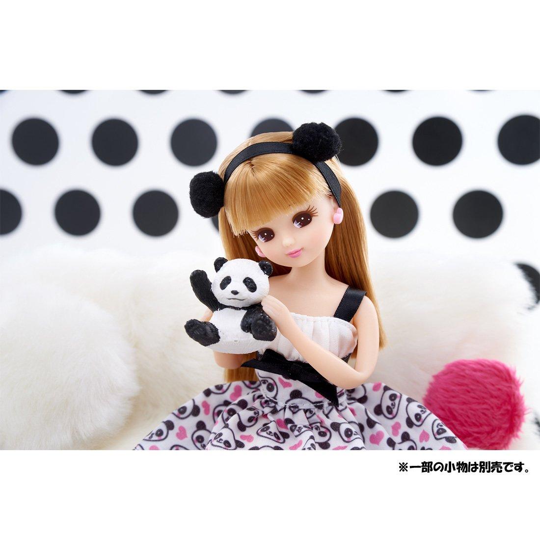 Takara Tomy Licca-chan LD-07 Chao Chao Panda Doll NEW