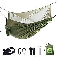 $25 » 【Upgraded】Hammock Camping with Mosquito Net. One Line Bug Net Design Indoor/Outdoor…