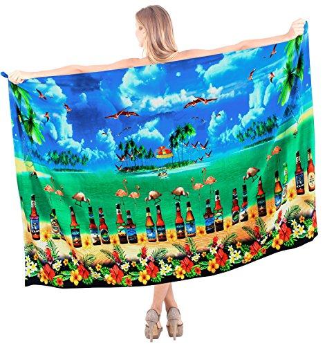 LA tra donne beachwear sarong costume Blu involucro i392 più bagno da isole delle coprire LEELA il bikini crociera le spiaggia BqBpS
