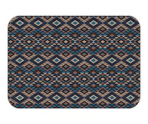 Violet Jacquard Fabric (Beshowere Doormat Native American Decor Set Ethnic Knitted Jacquard View Fabric Geometric Bathroom Accessorie Extralong.jpg)