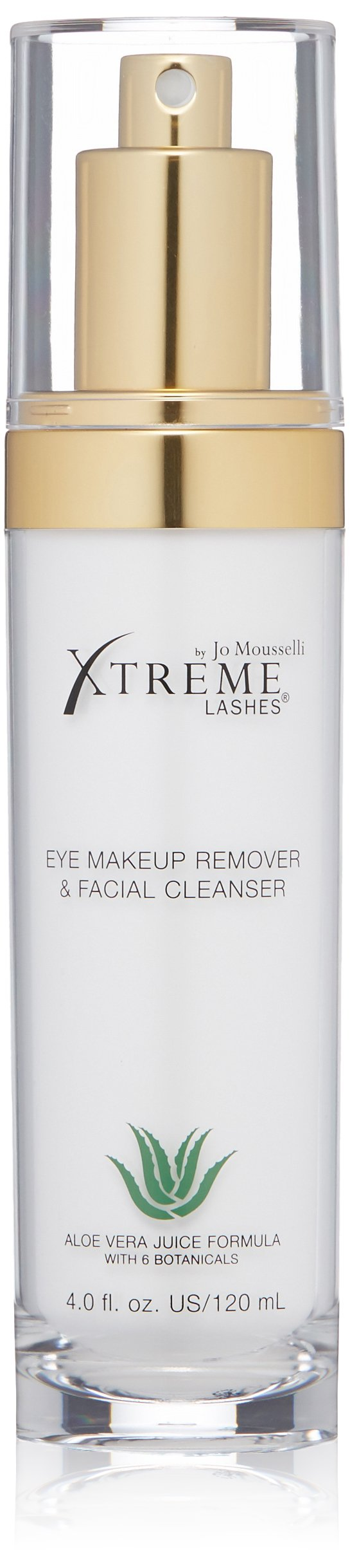 Xtreme Lashes Eye Makeup Remover & Facial Cleanser, 120 ml