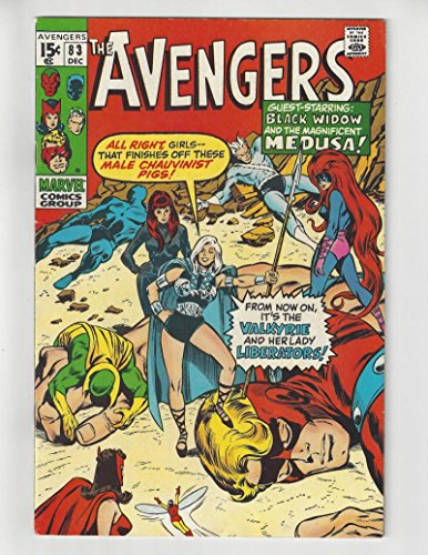 The Avengers #83/Bronze Age Marvel Comic Book/1st Valkyrie/VF