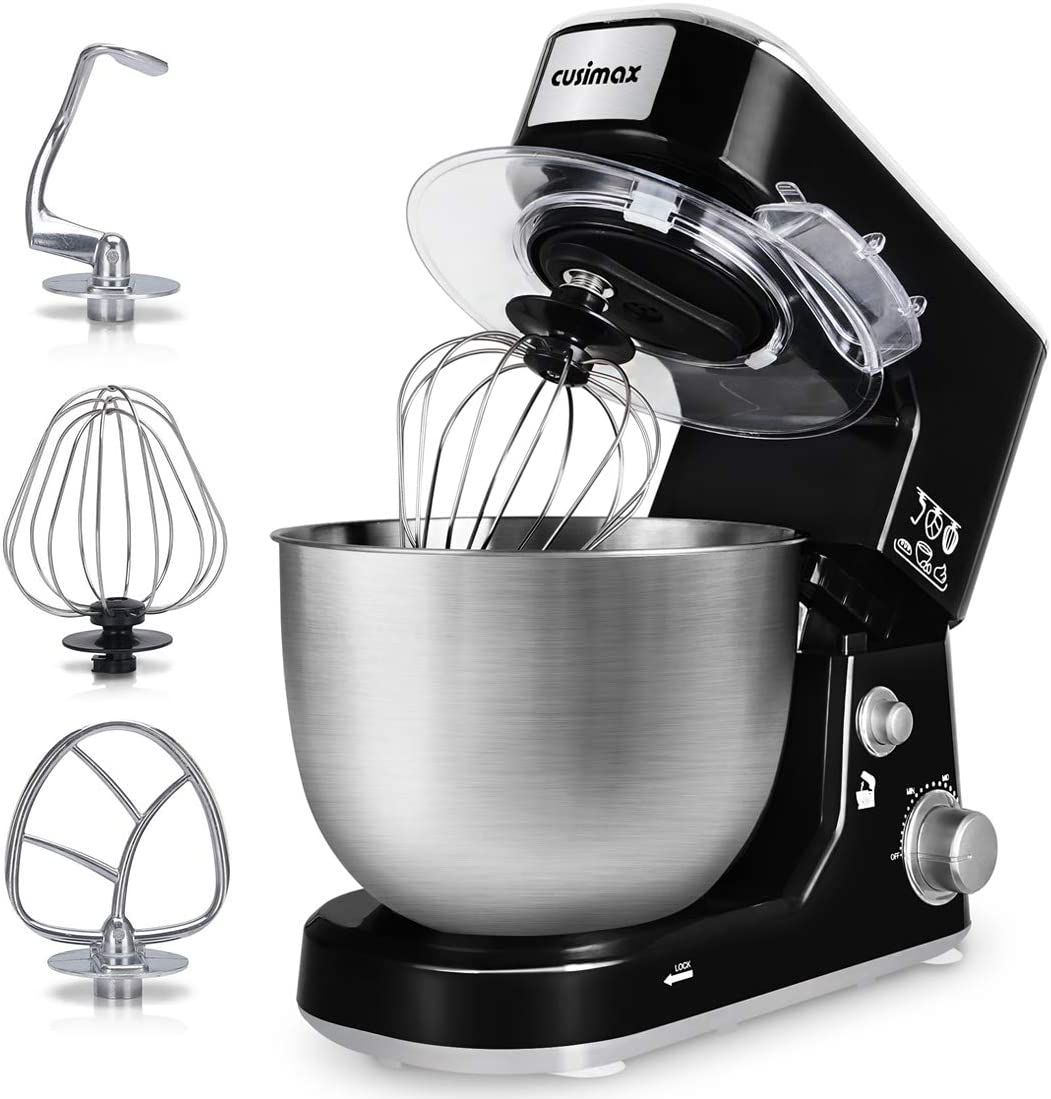CUSIMAX  5-Quart Stainless Steel Bowl Electric Mixer $79.98 Coupon