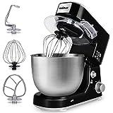 Stand Mixer, Cusimax 800W Dough Mixer Tilt-Head Electric Mixer with 5-Quart Stainless Steel Bowl, Dough Hook, Mixing…