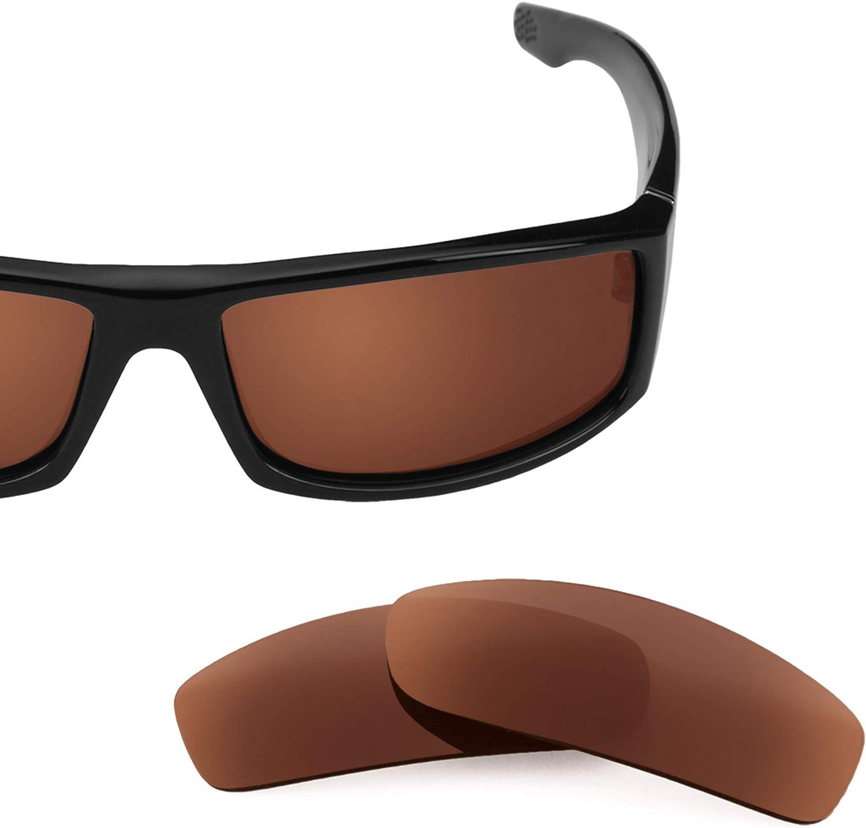 Revant Verres de Rechange pour Spy Optic Cooper - Compatibles avec les Lunettes de Soleil Spy Optic Cooper Marron Foncé - Polarisés Elite