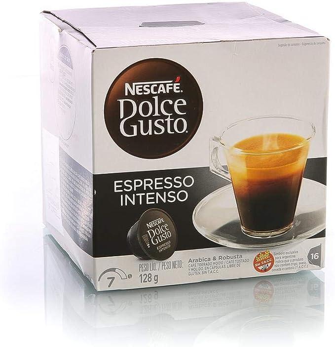 Nescafe - Dolce gusto espresso intenso 16 cápsulas (pack de 3 ...