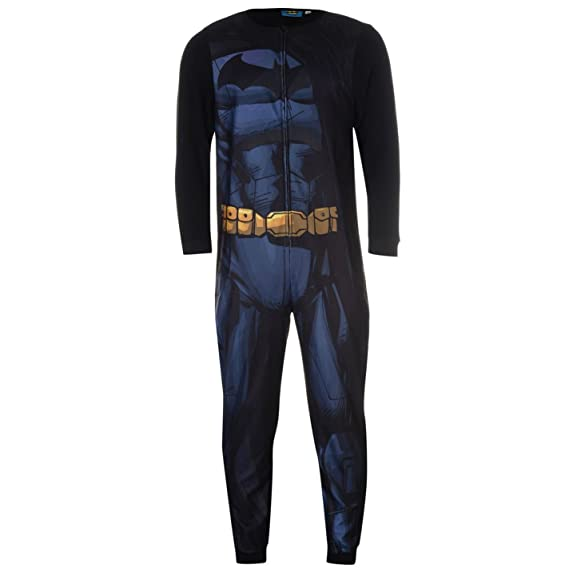 DC Comics Mens Batman Onesie Nightwear for Adults  Amazon.co.uk  Clothing 15480df38