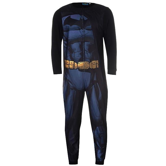 DC Comics - Pijama de una Pieza - para Hombre: Amazon.es: Ropa y accesorios