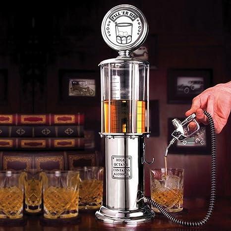 Bar Butler visible Bomba de gas dispensador de licores, Mini cerveza vertedor Agua Líquido Dispensador