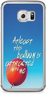 Samsung Galaxy S6 Edge Transparent Edge Phone Case Crazy Phone Case Love Phone Case Valentine Phone Case Music Samsung Galaxy S6 Edge Cover with Transparent Edge