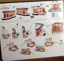 Amazon Calico Critters Seaside Cruiser Houseboat Toy