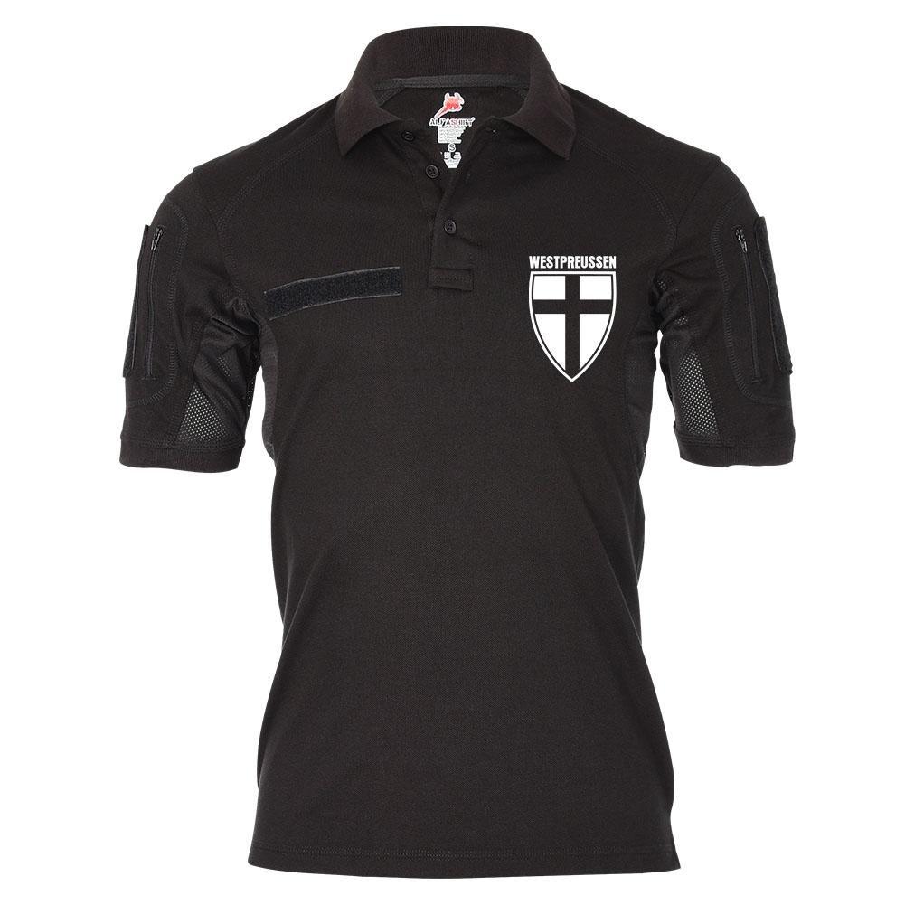 Tactical Polo West Preußen Wappen Abzeichen Ost Deutschland - Shirt  21691