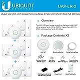 Ubiquiti UAP-LR-3 UniFi AP Enterprise  Long Range WiFi System, 3 Pack