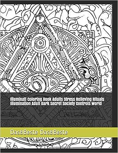Amazon Com Illuminati Coloring Book Adults Stress Relieving