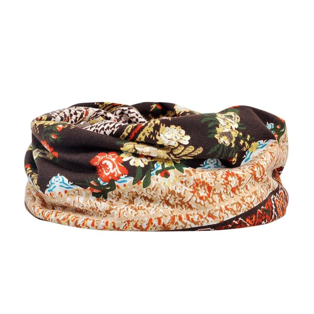 Fashion Stylish Soft Scarf Shawl Neck Wrap Headscarf Stole,Scarf Wrap shawls,Jimmkey Unisex Print Hat Ruffle Cancer Hat Beanie Scarf Collar Turban Head Wrap Cap Sarong