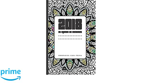 Mi Agenda de mandalas 2018: personaliza cada página (Spanish ...