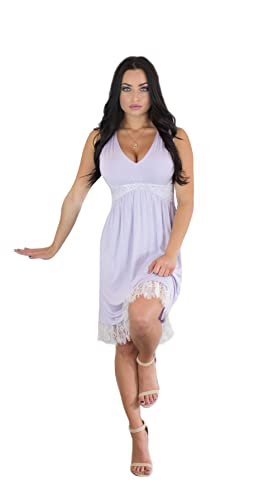 Charm Your Prince Women's Full Back Sundress with White Lace 5.0 out of 5 stars    1 customer review   Price: $24.99 - $36.99 & Free Return on some sizes and colors