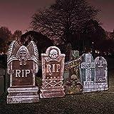 "JOYIN 17"" Halloween Foam RIP Graveyard Tombstones"