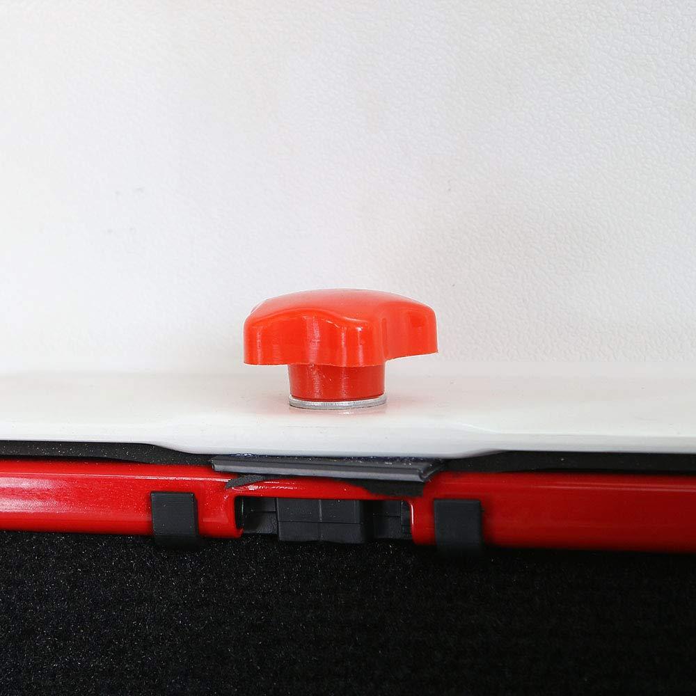 JeCar Hard Top Quick Removal Fastener Thumb Screw /& Nut Kit for Jeep Wrangler JK JKU Sports Sahara Freedom Rubicon 2007-2017 16pcs Black