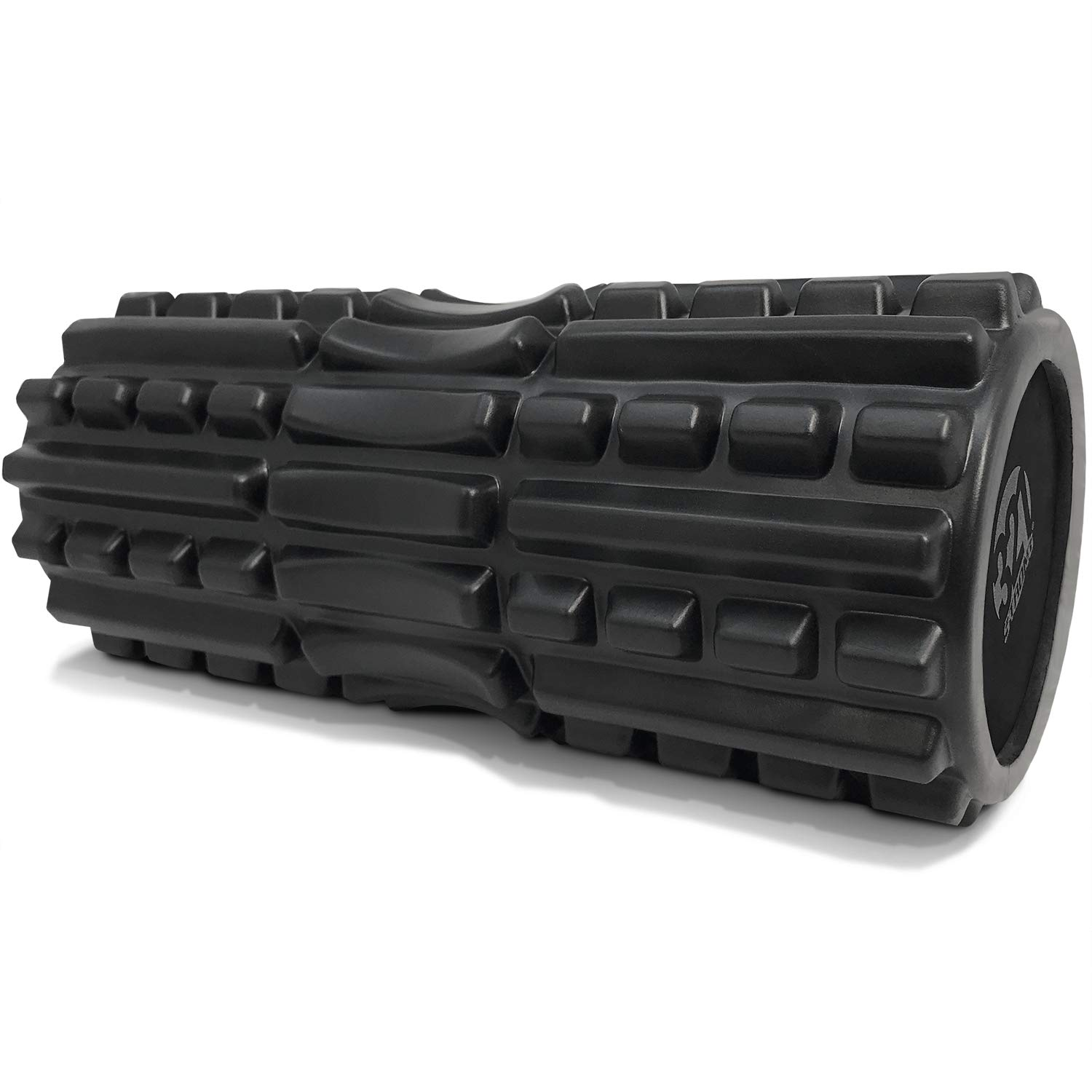 321 STRONG Foam Roller – Extra Firm High Density Deep Tissue Massager with Spinal Channel